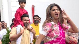 Shilpa Shetty Ganpati Visarjan 2018 Full Video