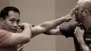 Master Apolo Ladra | Filipino Martial Arts | Pasunuran-Sinawali (One follows the other - weaving)