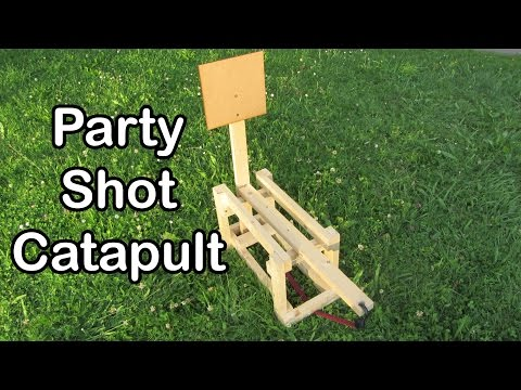How to build a Party Candy Catapult