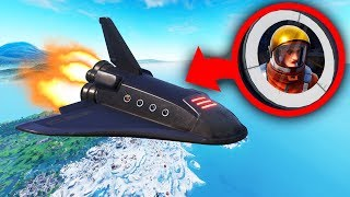 ESCAPE The SPACE Station To Get Back To The ISLAND! (Fortnite)