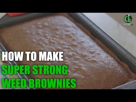 How to Make Potent Weed Brownies (aka Chronies)  - Cannabis Lifestyle TV
