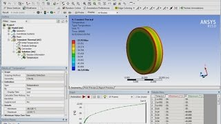 Coupled Thermal - structural analysis - ANSYS Tutorial
