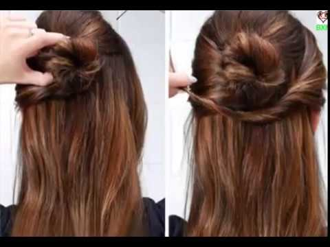 How to lool cute with no effort | 7 Quick And Easy Hairstyles For School
