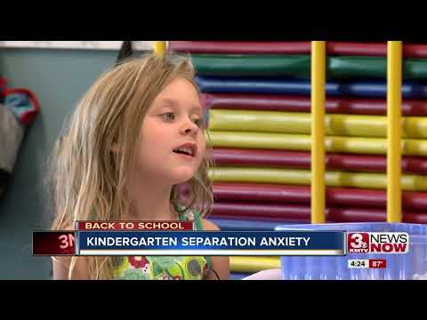 Back to School: Kindergarten separation anxiety