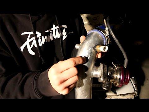 Installing Megasquirt / IAT sensor on the turbo miata