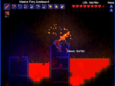 Terraria(looking for guide voodoo doll)