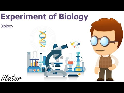 √ Experiment of HSC Biology | iitutor