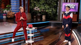 Justin Bieber Plays 'Holey Puck' for a Huge Audience Giveaway