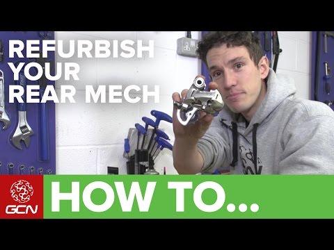 How To Refurbish A Rear Derailleur | Road Bike Maintenance