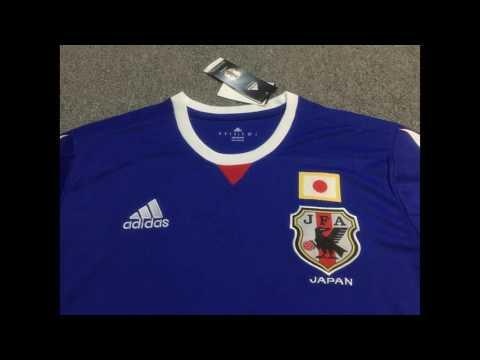 2017 Japan Home Blue Soccer Jersey Kit