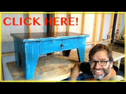 How to Build Coffee Table.