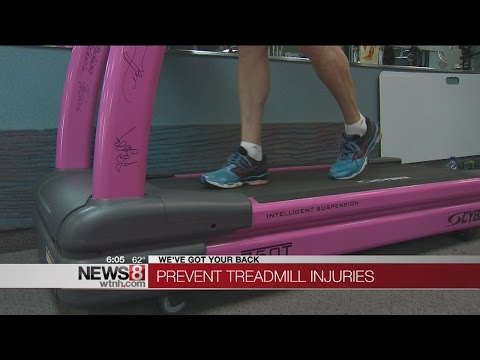 How to prevent treadmill injuries
