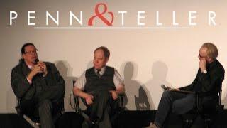 Penn & Teller with Adam Savage   SF Sketchfest