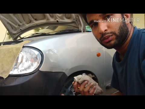 How to fix dent on Alto LXI using hot water