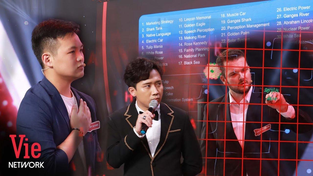 SUPER PUZZLE ENCYCLOPEDIA Challenge: Viet Hoang vs Simon Reinhard | THE BRAIN VIETNAM
