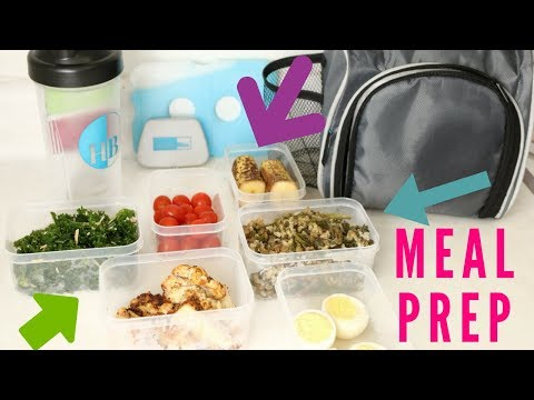 Meal Prep with Me! | Daily Meal Prep for Weight Loss