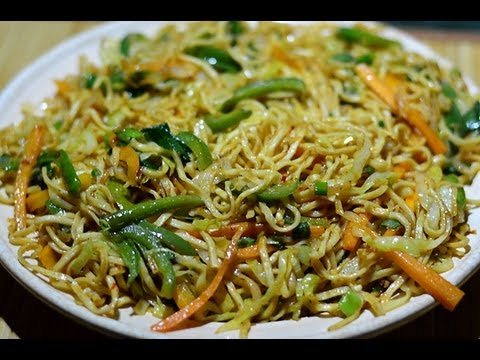 Veg Noodles Recipe | Veg Chow Mein | Vegetable Noodles
