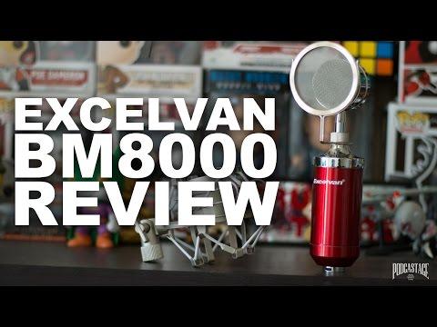 Excelvan BM-8000 Condenser Mic Review / Test