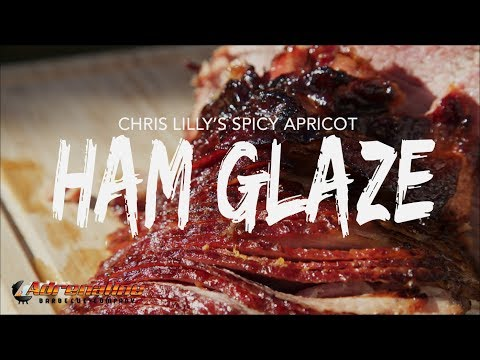 Chris Lilly's Spicy Apricot Glaze - Ham Glaze Recipe - Apricot Ham Glaze