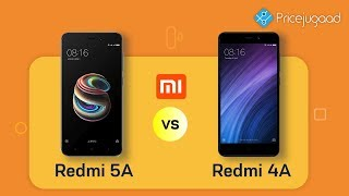 Redmi 5A vs Redmi 4A | Official Specs| Price|