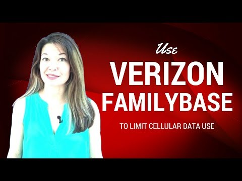 Use Verizon Familybase to Limit Cellular Data Overage