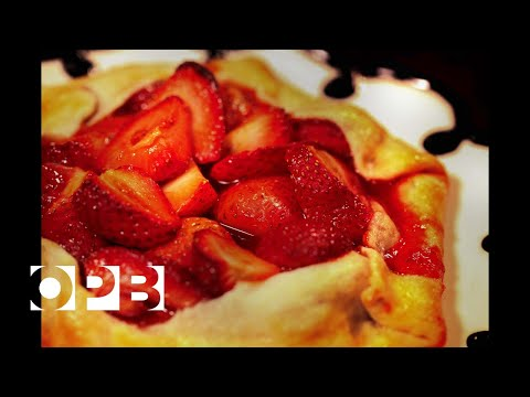 Bake This Rustic Strawberry Galette