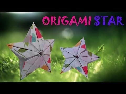 Origami 3D Star - Origami Easy