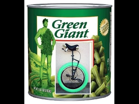 Green Giant Unicycle - 26 x 4 Tire for Nimbus Oregon