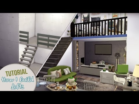 HOW I BUILD LOFTS | The Sims 4 Building Tutorial