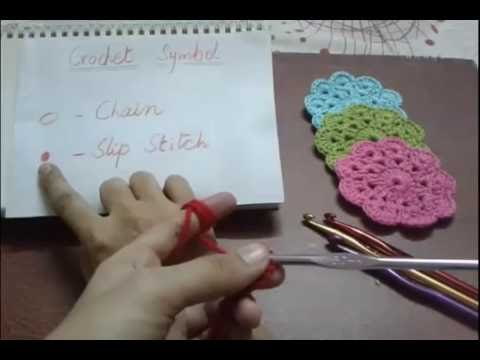 How to Crochet Chain and Slip Stitch - Urdu