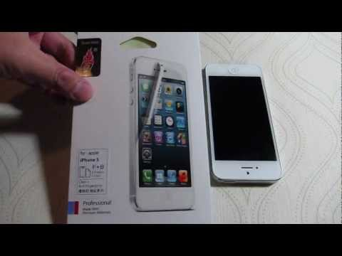 How to Put on an iPhone5 Screen Protector
