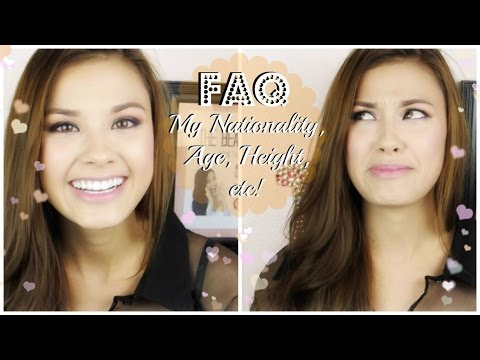 The Beauty Breakdown FAQ: My Nationality, Age, Height, etc!