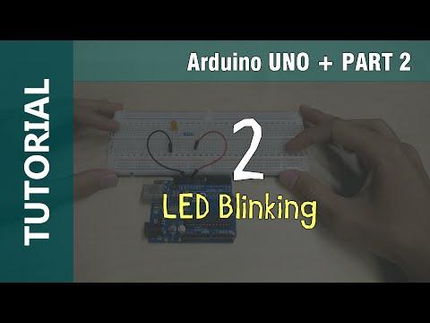 Arduino LED Blinking Tutorial Part 2