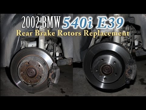 Rear Rotors Replacement BMW 5 Series E39 Full HD