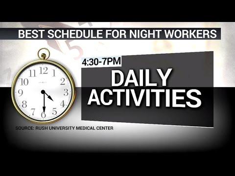 The best sleep schedule if you work overnight