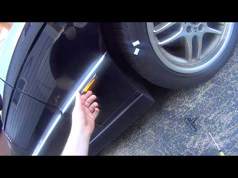 BMW E38 LED side repeater upgrades