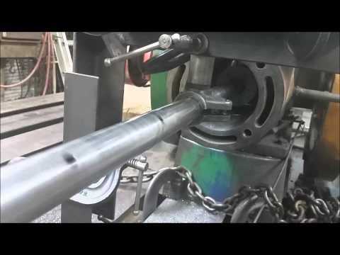 Line Boring a Fairbanks Morse ZC-118 Engine