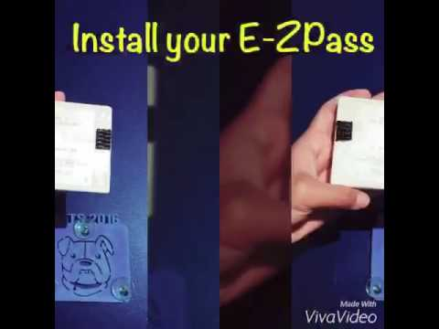 Easy way to install EZ Pass Holder