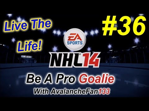 NHL 14 - Be A Pro - Goalie - Episode 36: A New Change