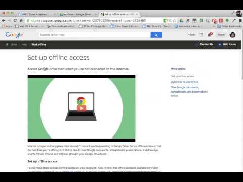 Google Docs Offline Mode