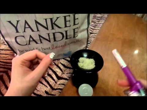 Yankee candle wax tart demonstration and general chat about them !