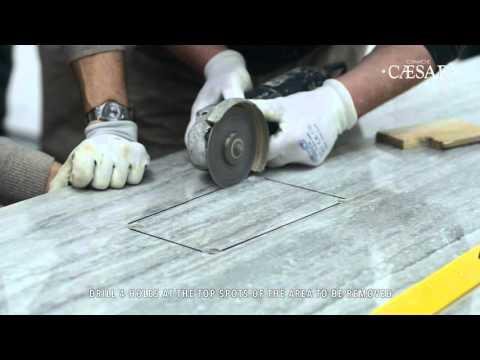 Caesar PROJECT EVOLUTION: porcelain tile slabs in large size up to 120x240cm
