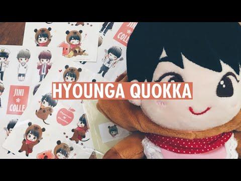 Hyounga Quokka (JIN doll) | unboxing ☆ BTS fansite goods