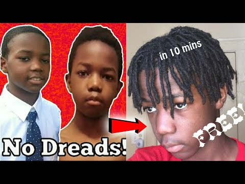 How To Get Dreads With Short Hair (FOR FREE)