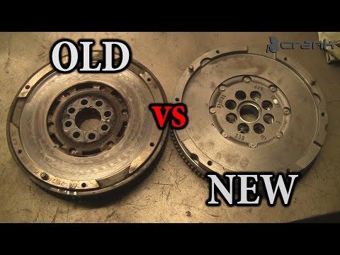 Old vs New BMW Flywheel