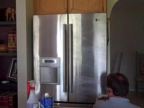 Granite Shield Fingerprint Free Stainless Steel Refrigerator Part 1