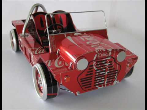 Scale Modeling in Metal 1/10 scale Midget Racer & The Coke Moke