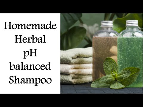 HOMEMADE SHAMPOO-Make your own pH Balanced HERBAL SHAMPOO/Stop Hair Fall & Dandruff/Hair Care Tips