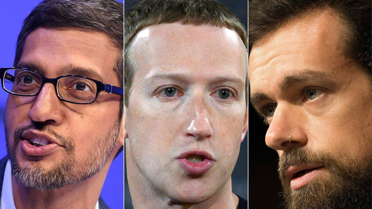Facebook, Twitter, Google CEOs Testify At Senate Hearing | NBC News