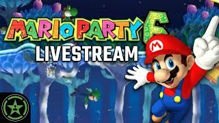 Achievement Hunter Live Stream -  Mario Party 6
